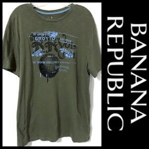 Banana Republic Graphic Tee Men's